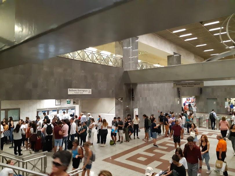 Syntagma metro station Athens