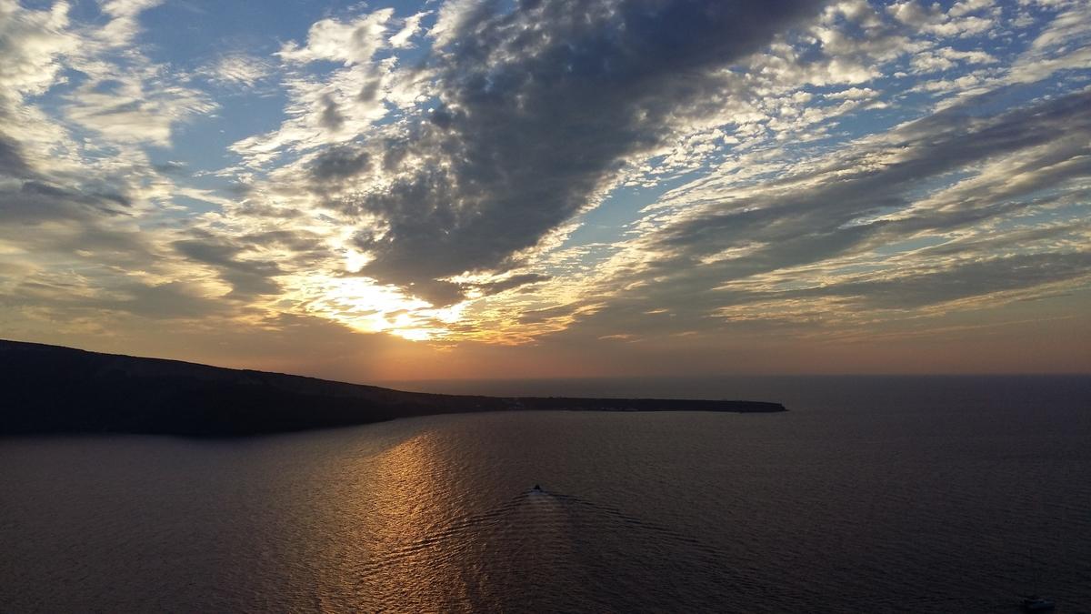 How many days in Santorini - Santorini sunset
