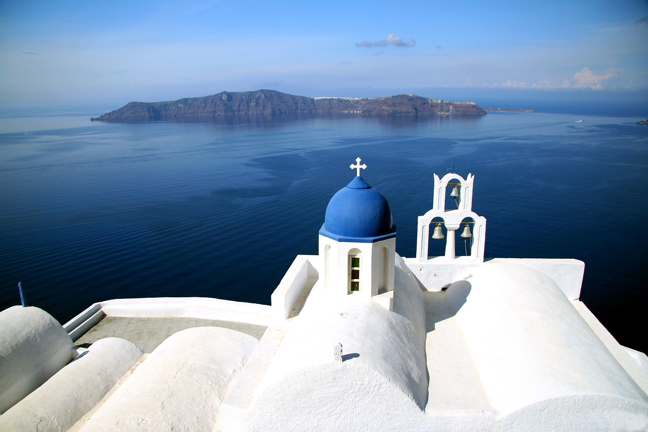 Greece tourist attractions - Santorini
