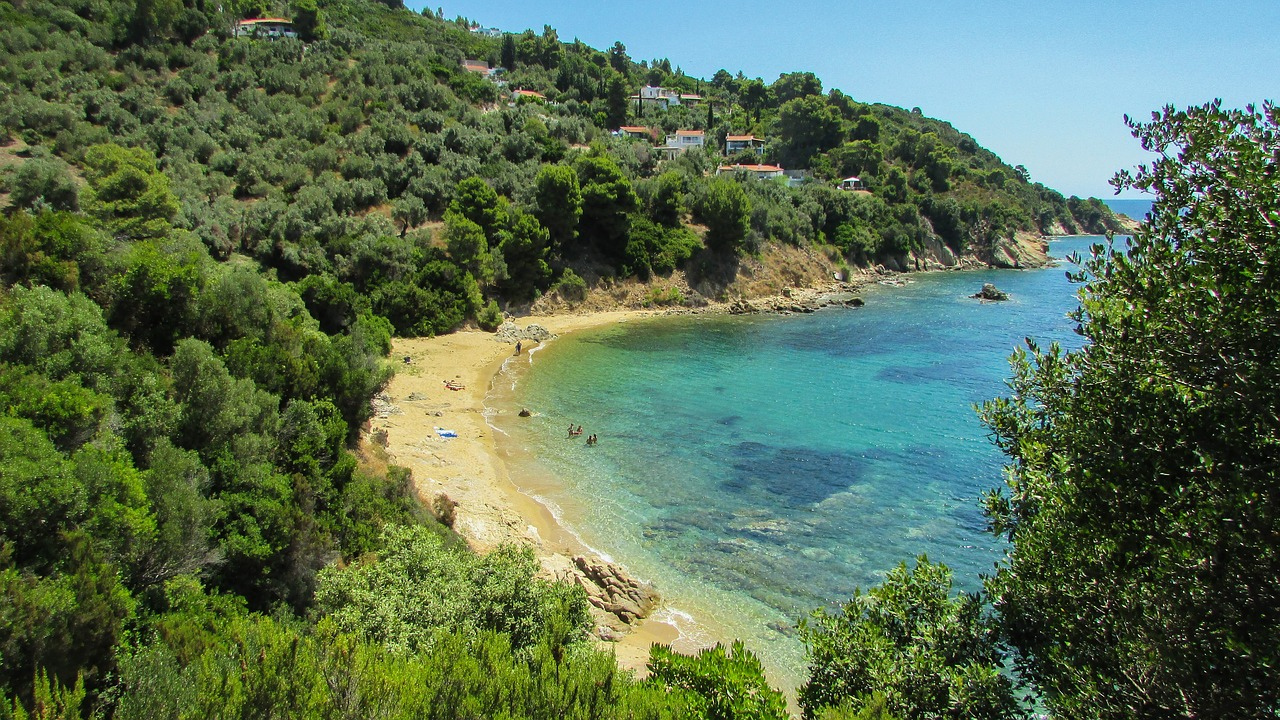 An introduction to the Greek islands - Skiathos beach