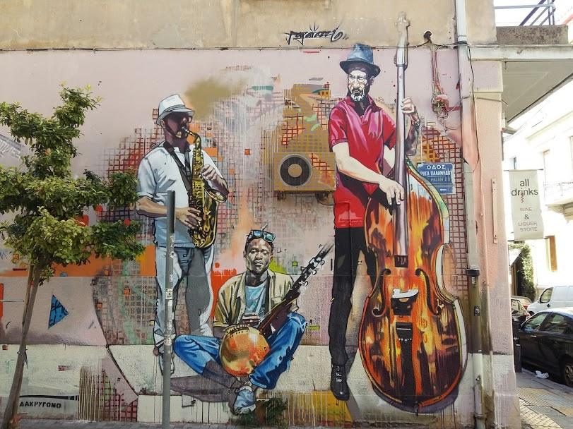 Psyrri Athens street art