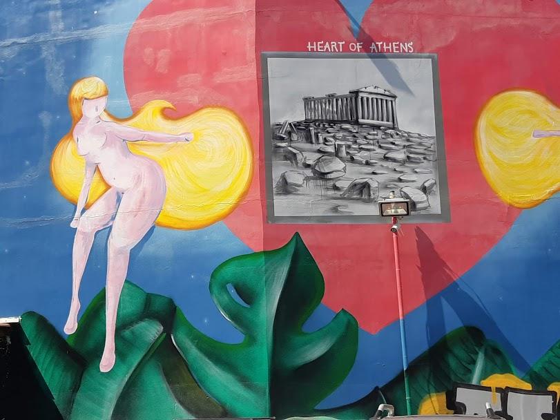 Psiri in Athens - Street artin Psyri
