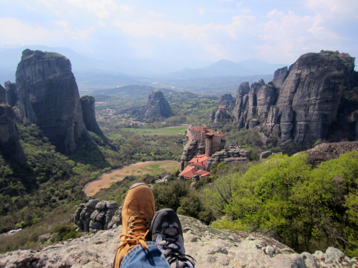 Views over Meteora Monasteries