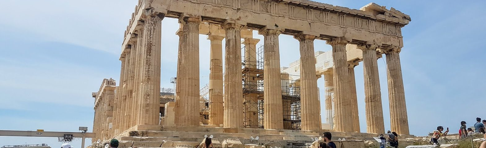 Tips for planning a trip to Greece - The Acropolis in Athens