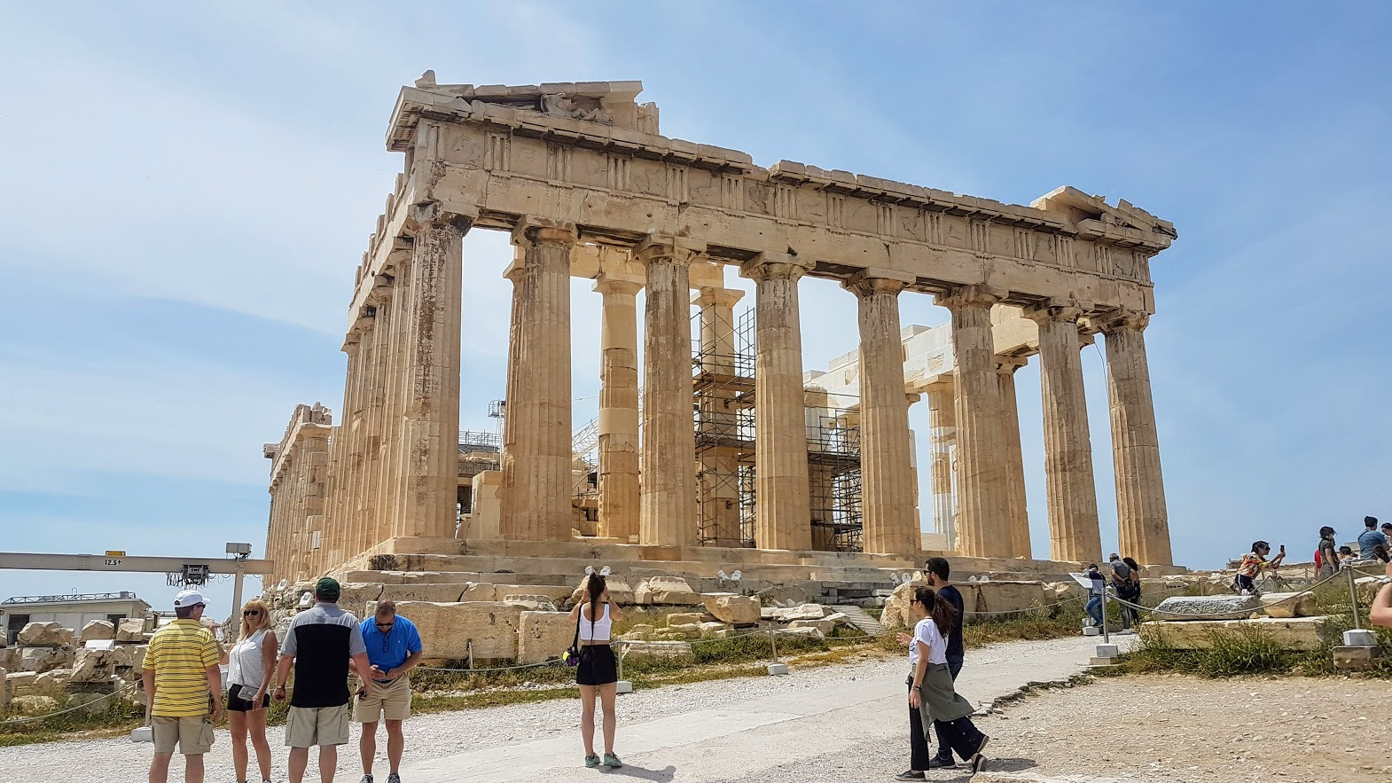 Free things to do in Athens - Walking around the Acropolis in Athens in the summer