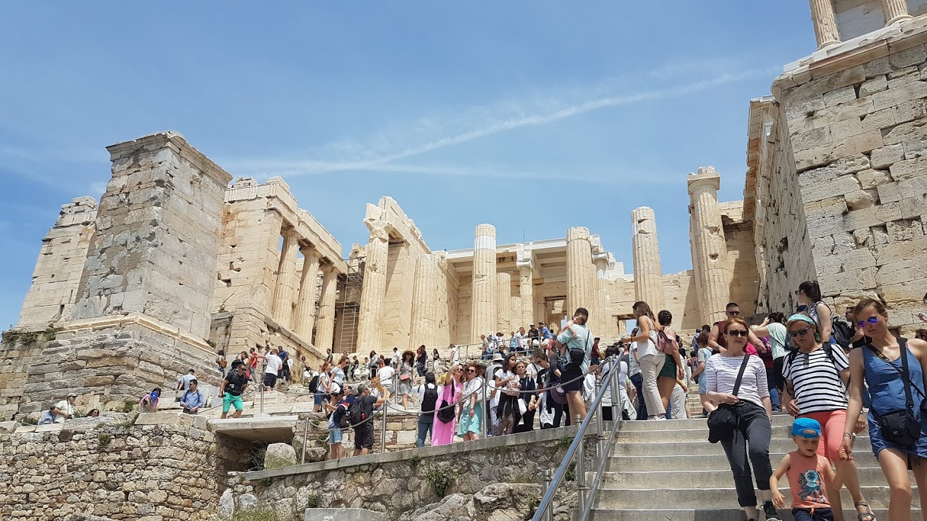 If you are going to Athens, you can't skip the Acropolis