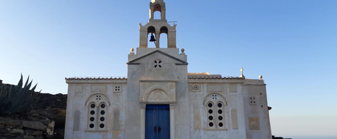 Beautiful church in Tinos Greece