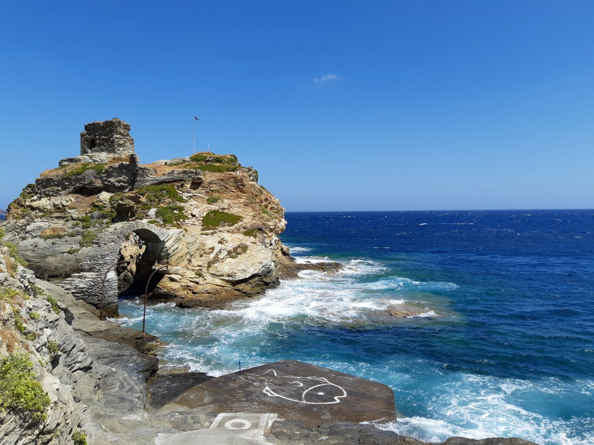 View from Chora Andros