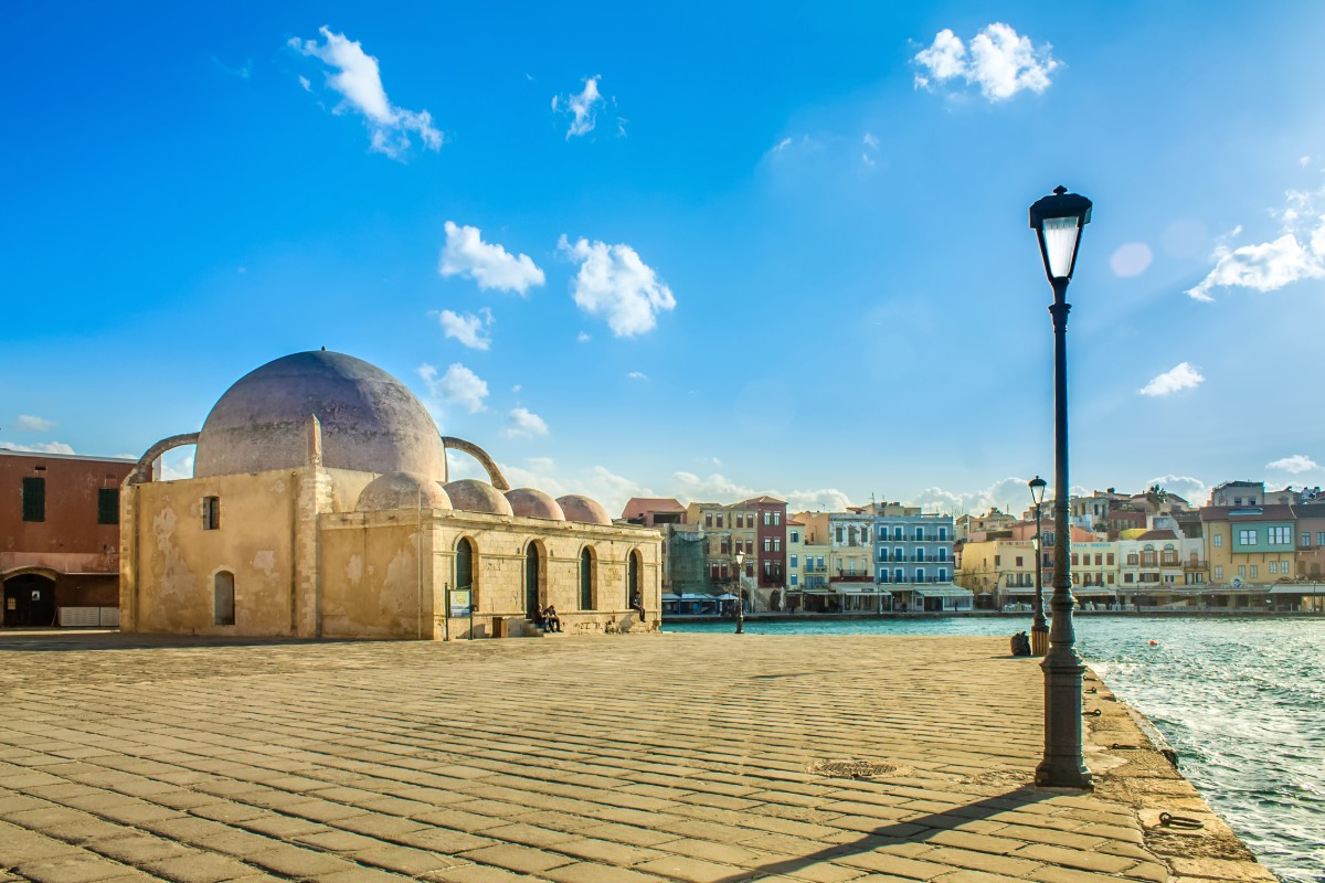 Should I visit mainland Greece or the islands - Chania Crete
