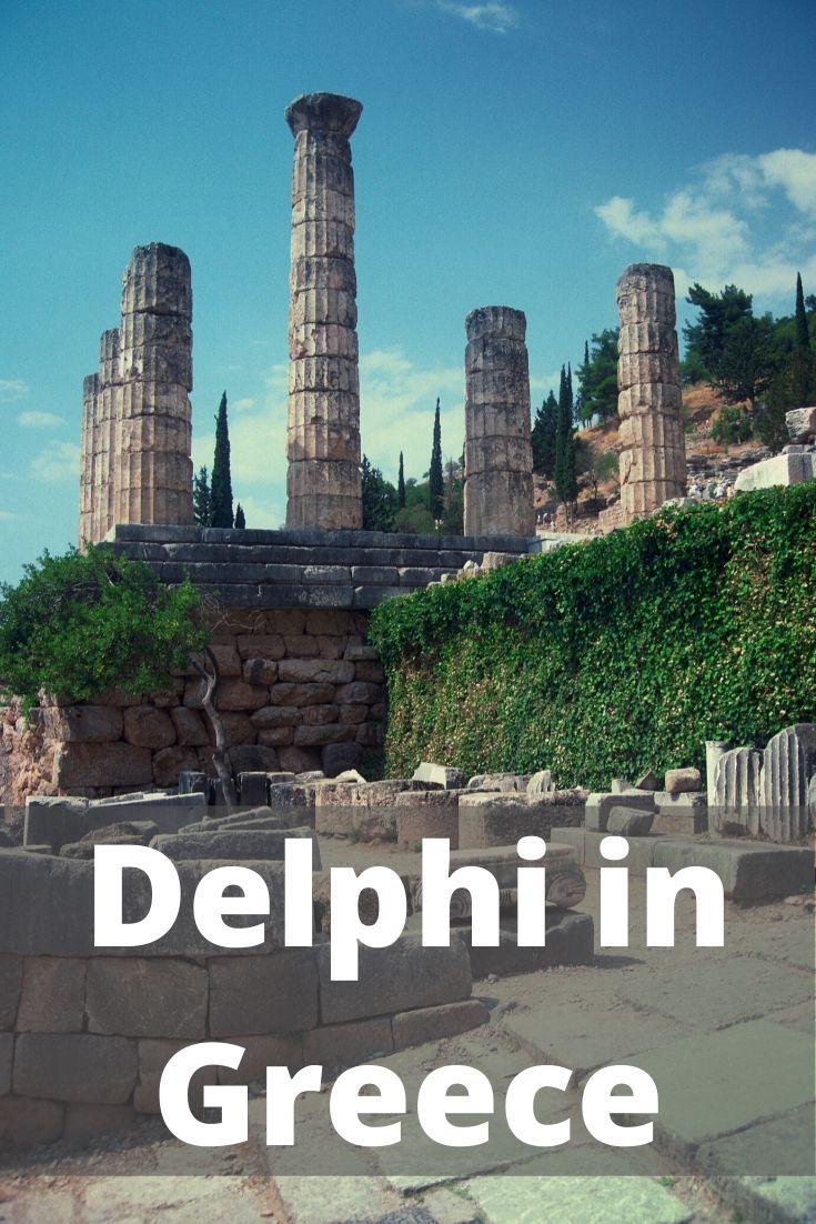 Delphi in Greece