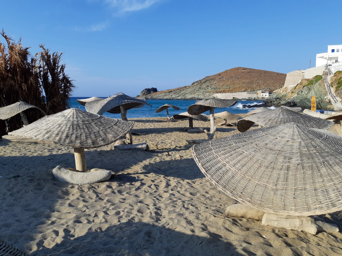 Best beach in Tinos - Kolymbithra