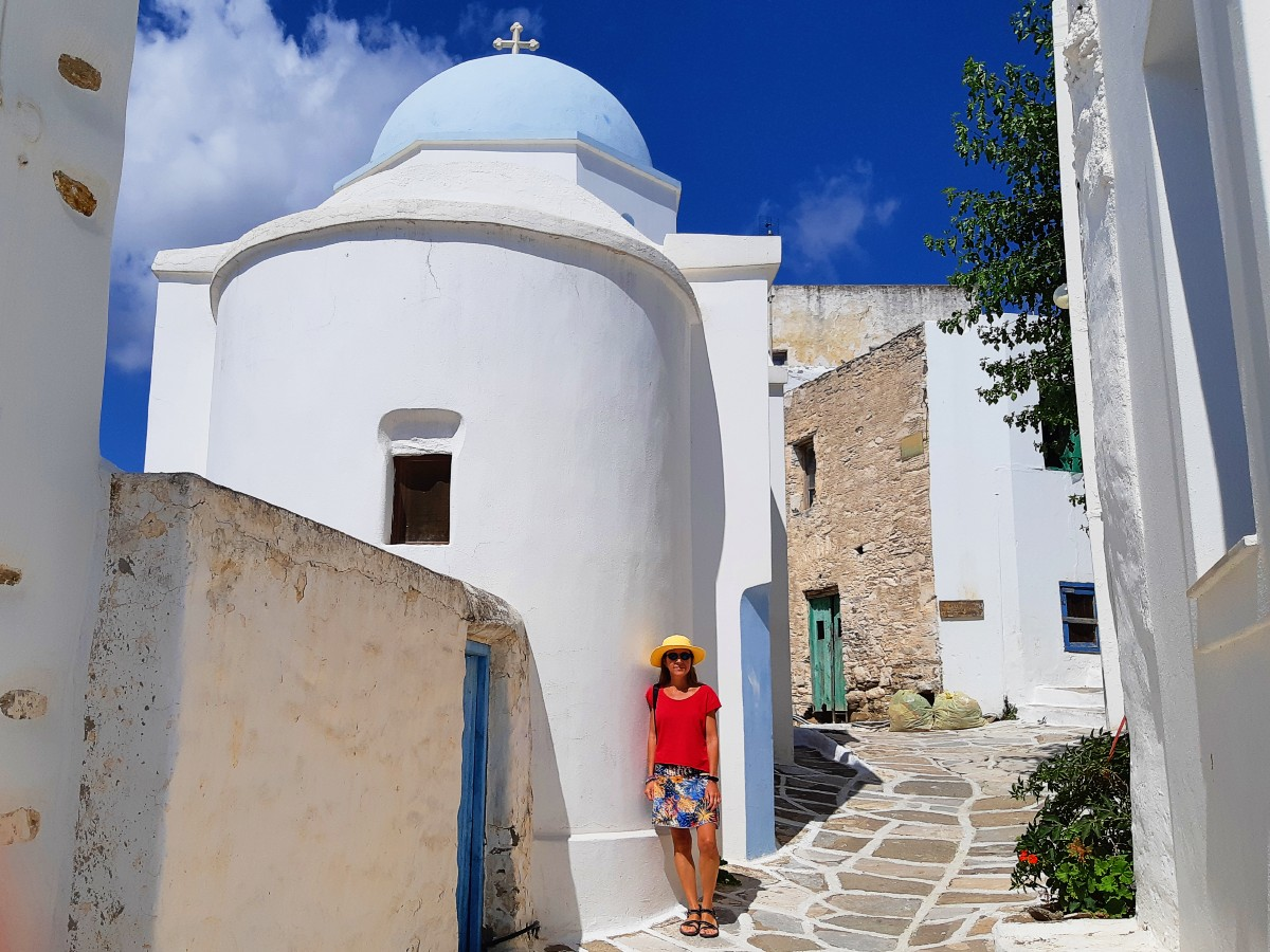 Paros is a popular island in Greece
