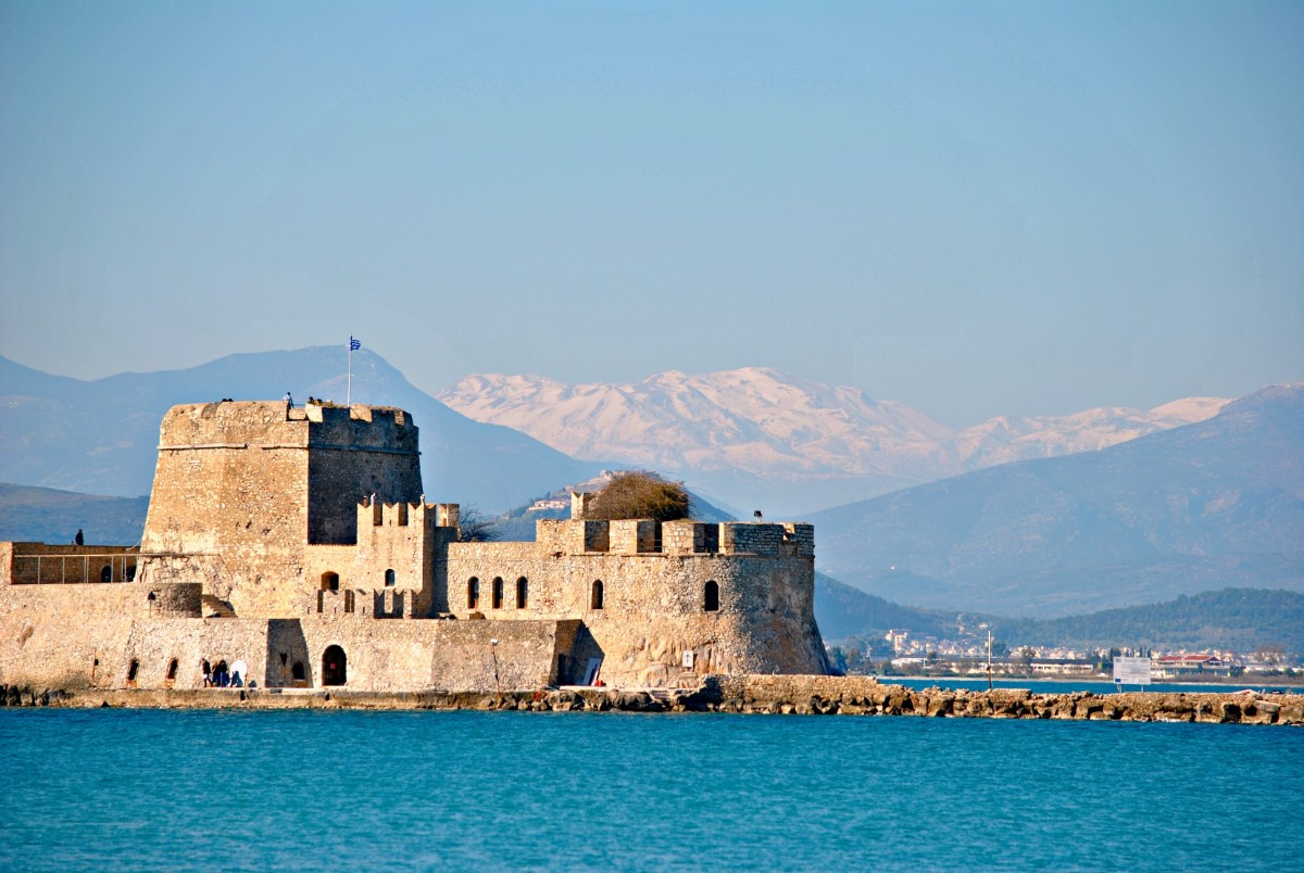 Islands vs the mainland - Nafplion in the Peloponnese