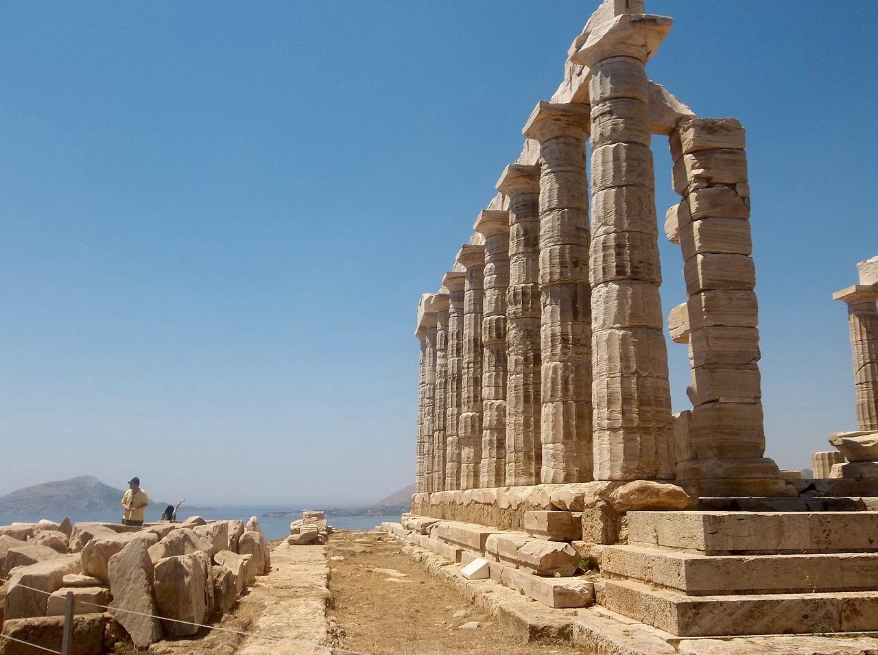 Temple of Poseidon near Athens