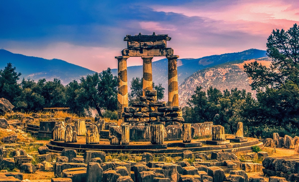 Archaeological site of Delphi - Tholos of Athena Pronaia