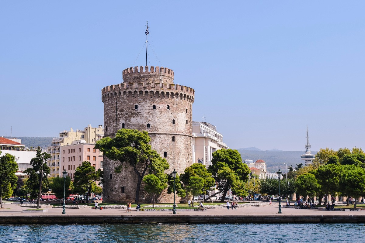 Thessaloniki Greece the White Tower