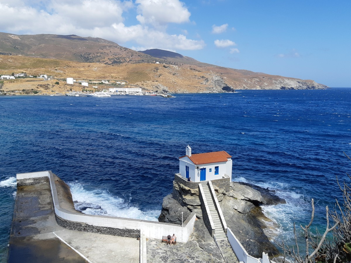 Church in Chora Andros