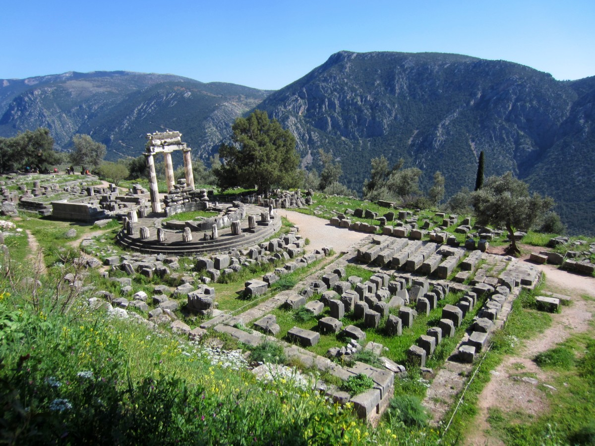 The Tholos - Archaeological site of Delphi