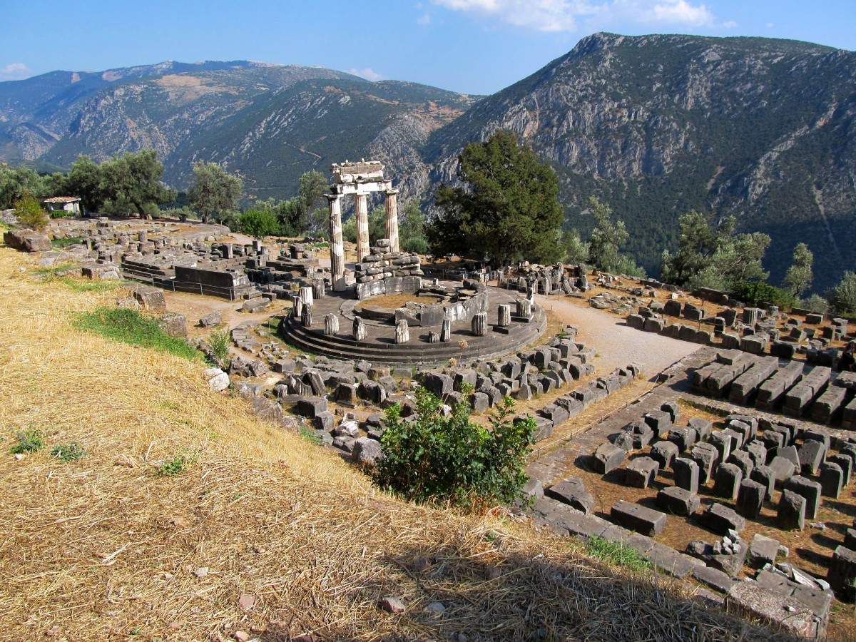Archaeological site of Delphi Tholos temple
