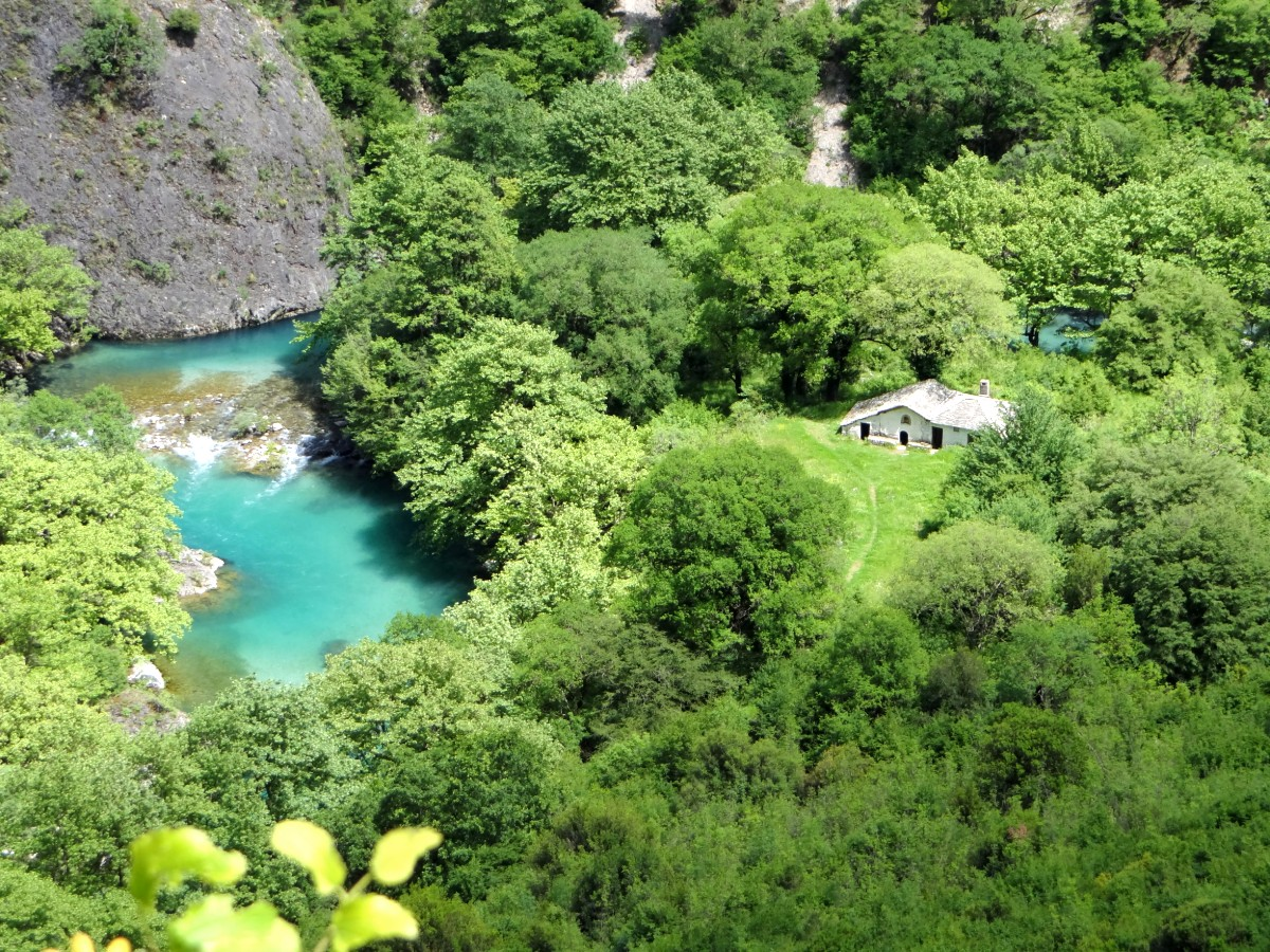 Mainland Greece or the islands - Vicos gorge Epirus Greece