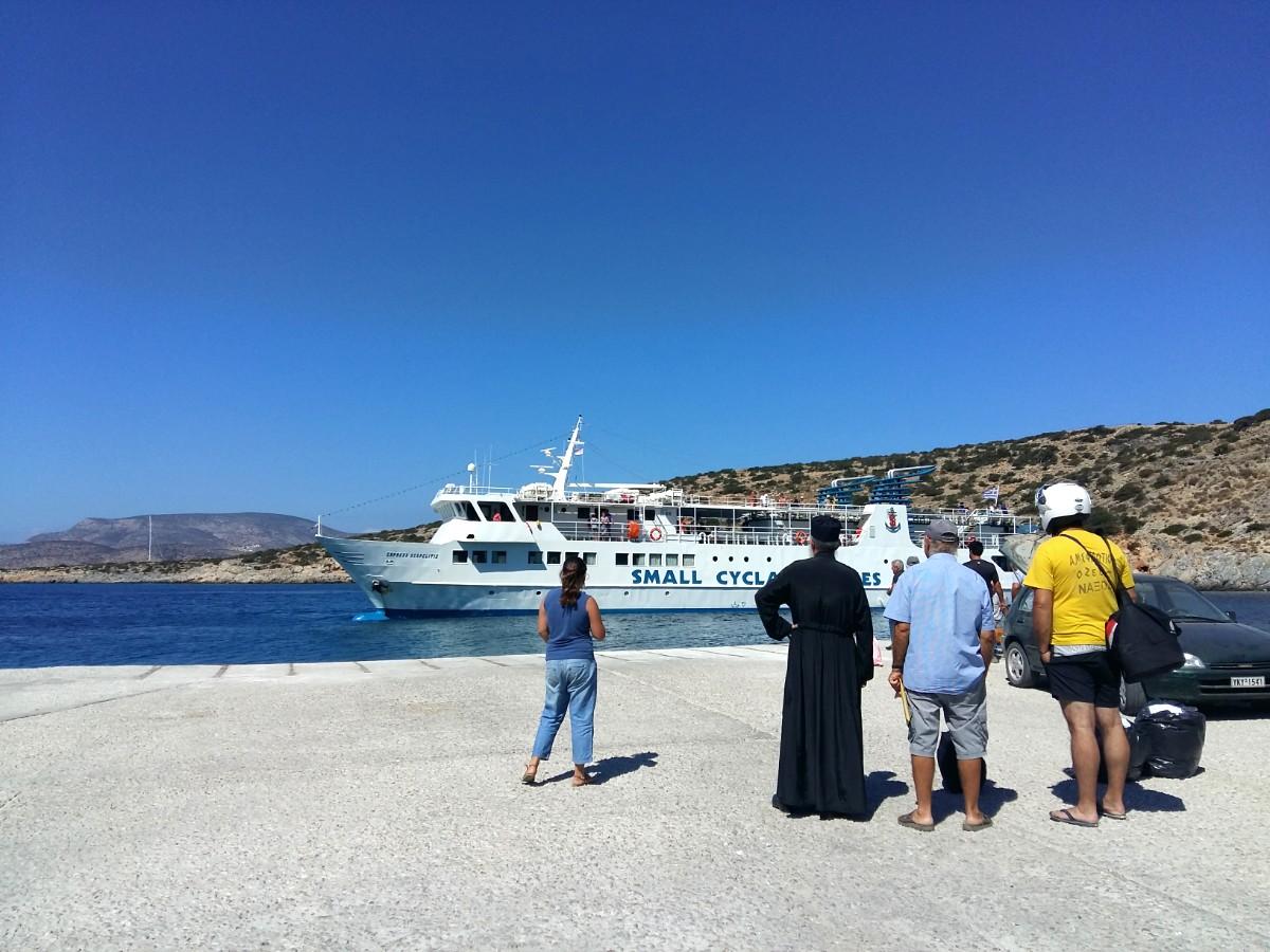 Skopelitis boat in Iraklia port