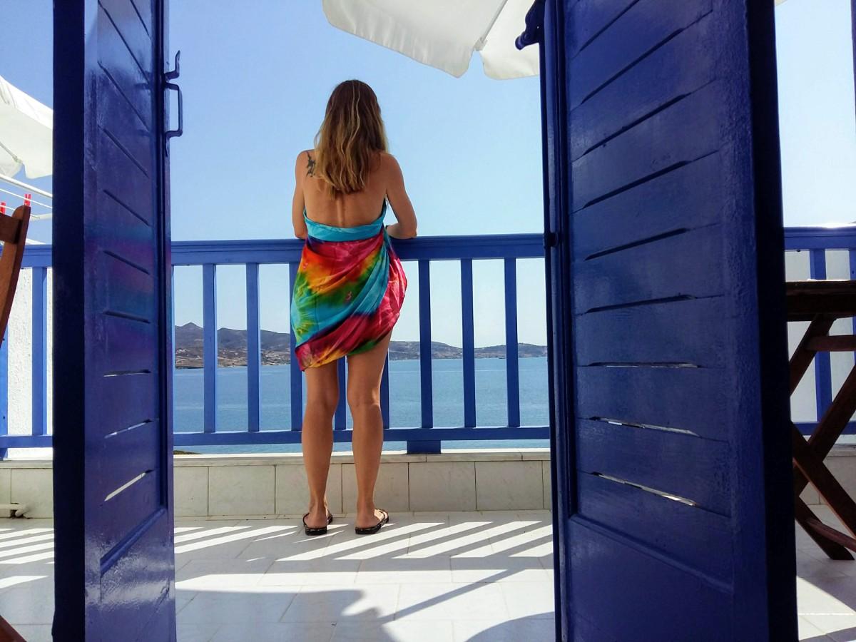 Bring a sarong to Greece