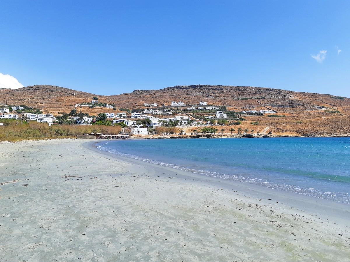 Tinos has beautiful sandy beaches