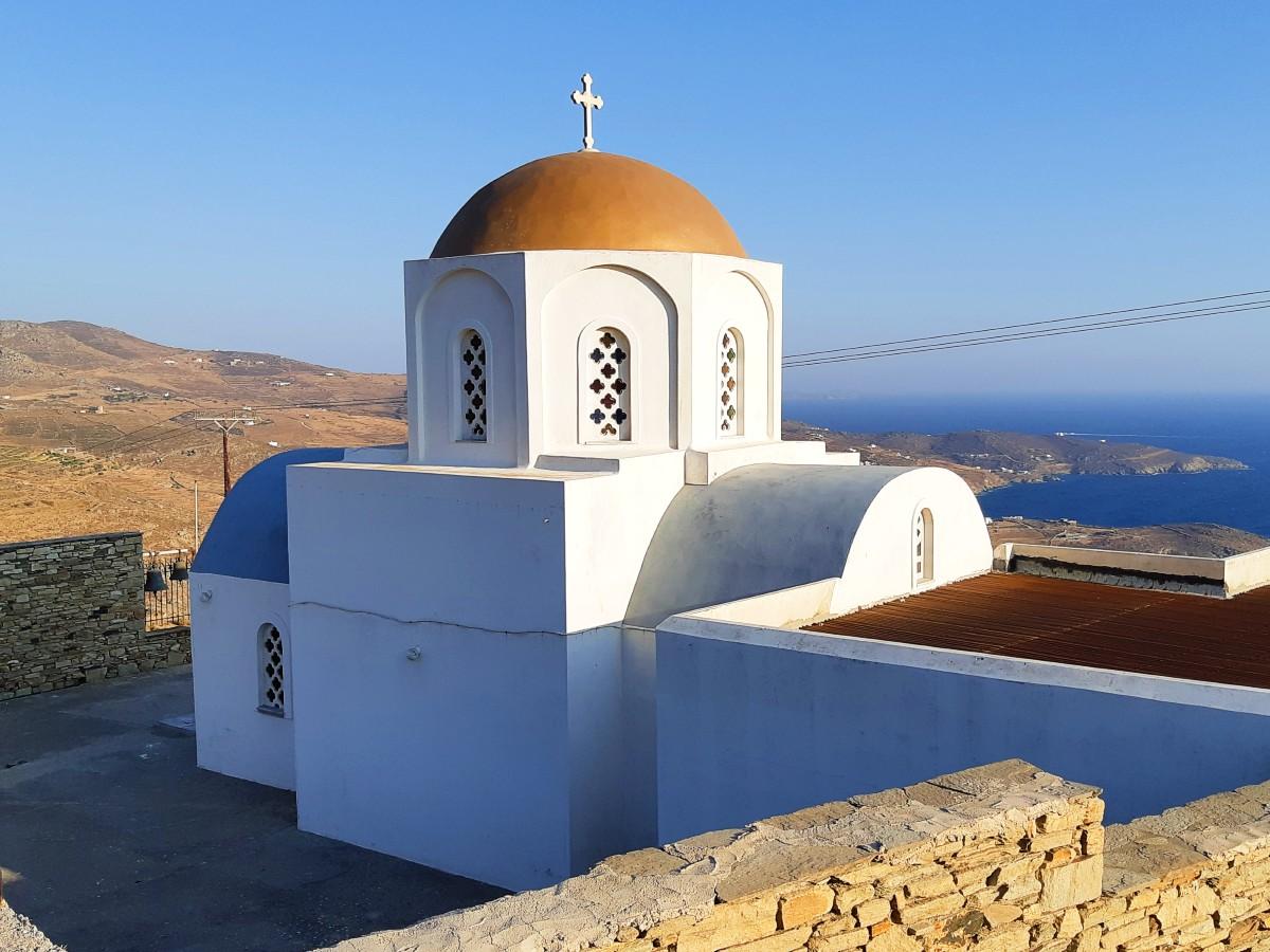 A Greek church
