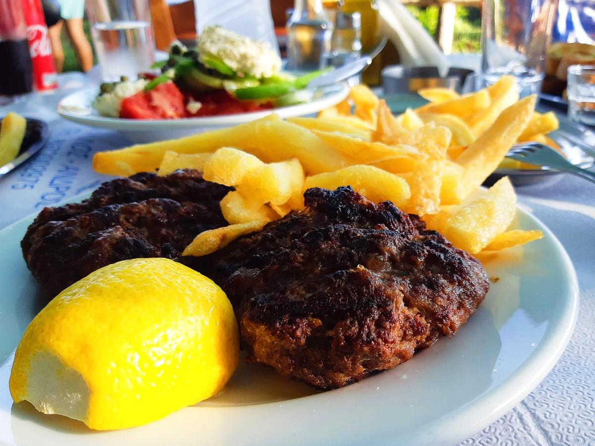 Enjoy delicious food in Andros