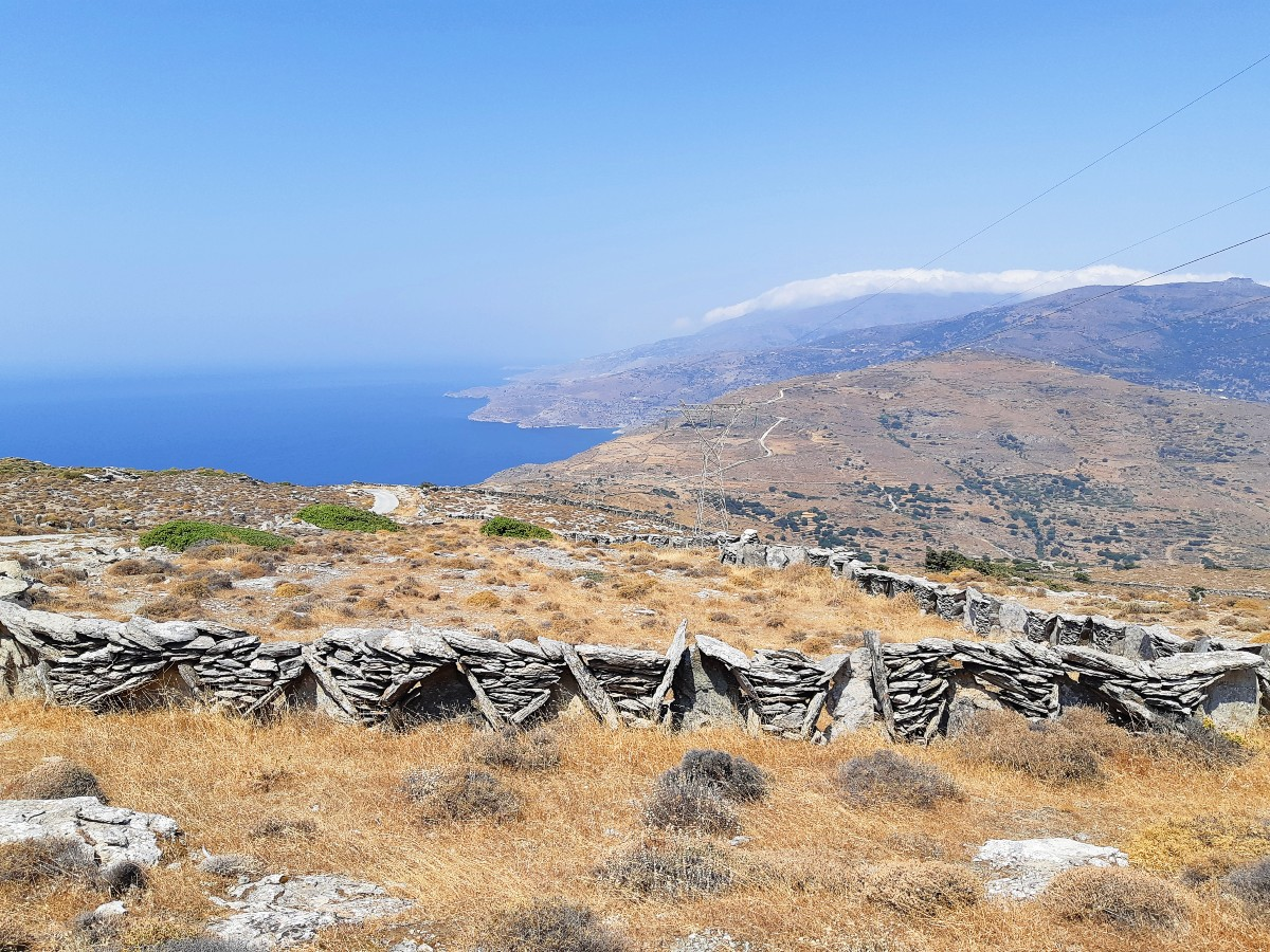 Enjoy the walking trails to explore Andros