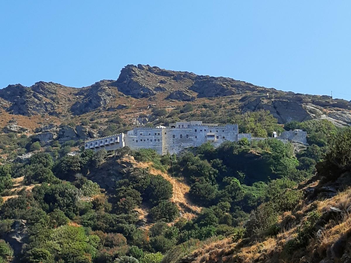 Panachrantou Monastery in Andros Greece