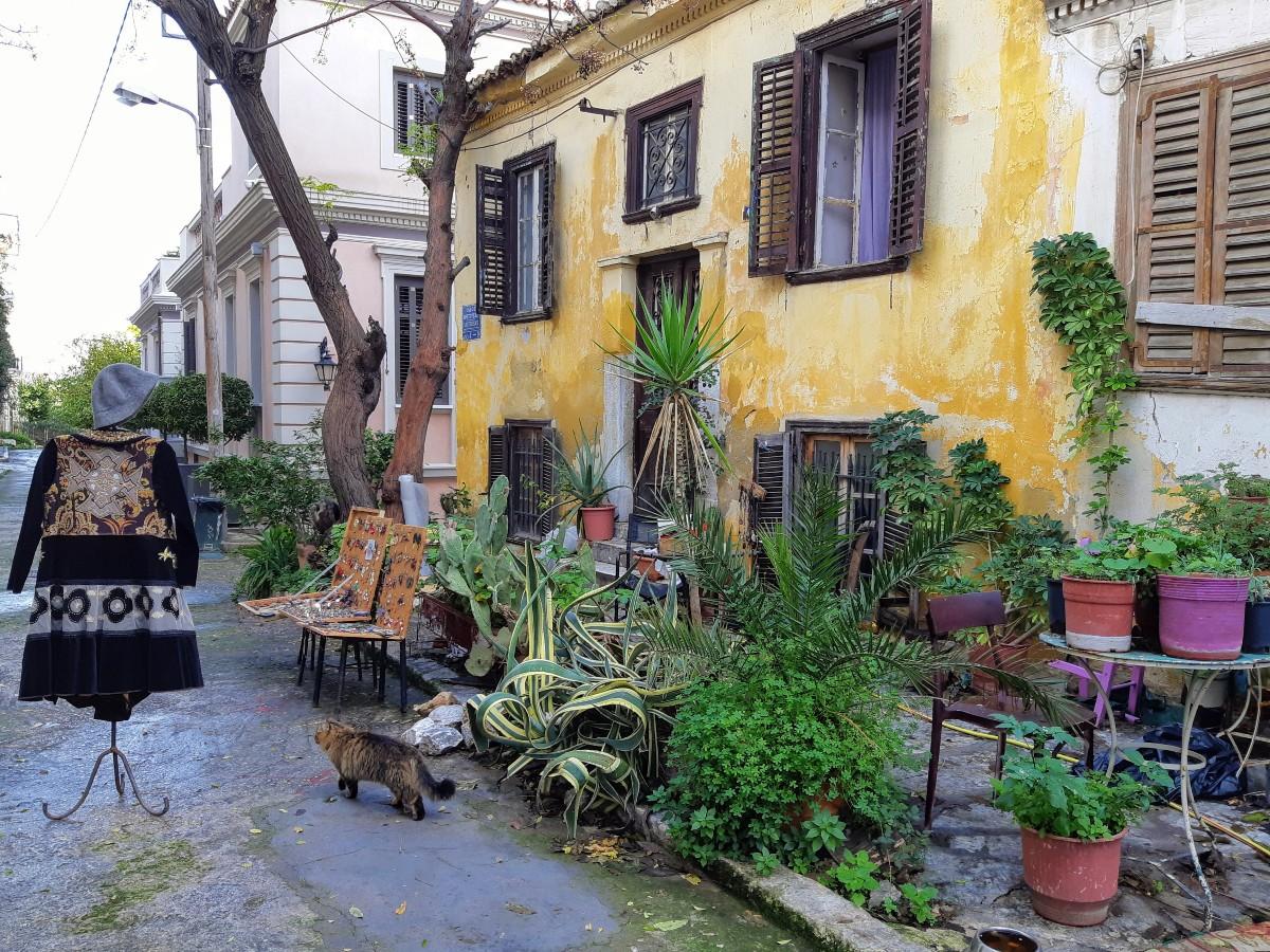 Stroll around Plaka Athens