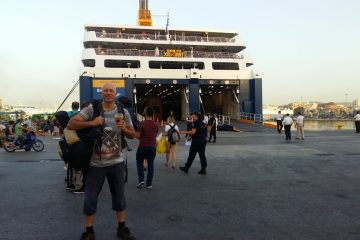 How to get to Iraklia island from Piraeus