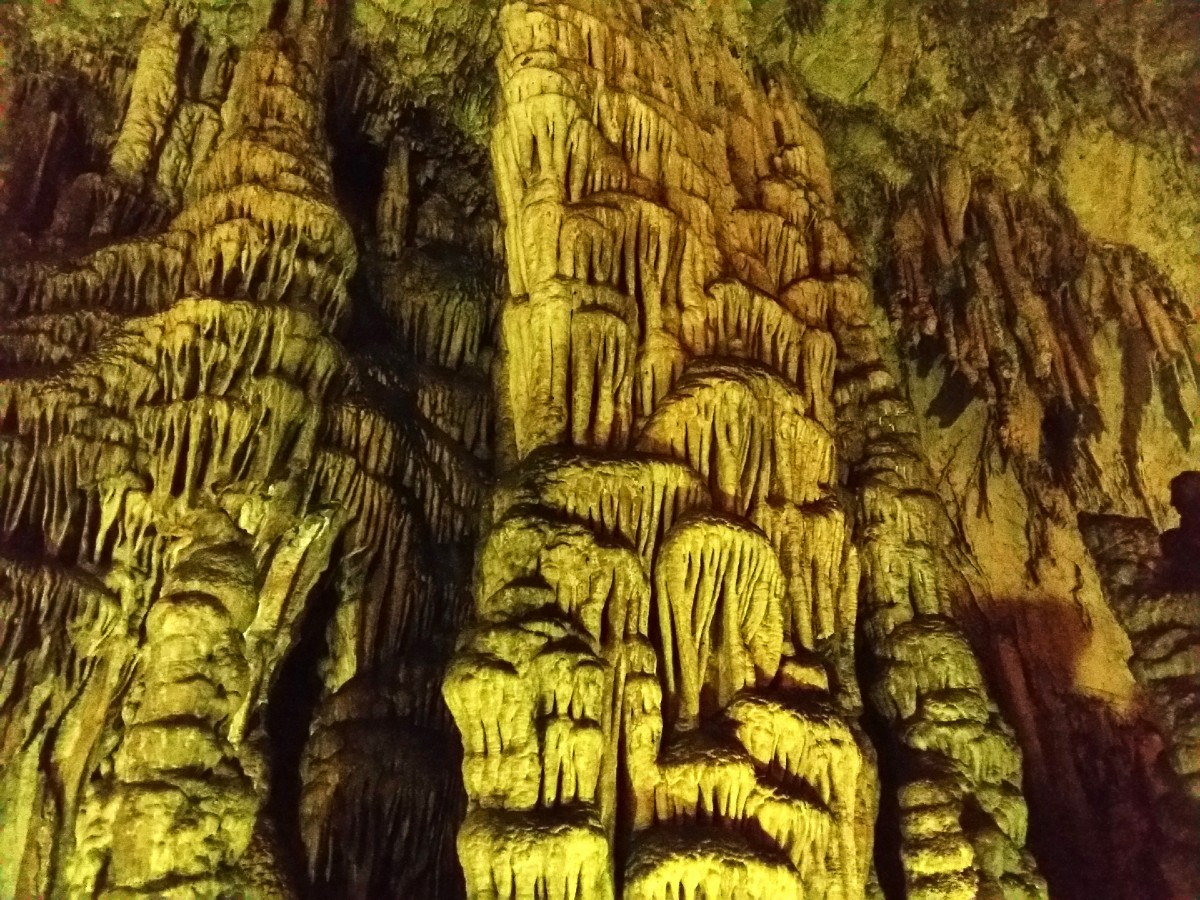 A cave where Zeus lived in Crete