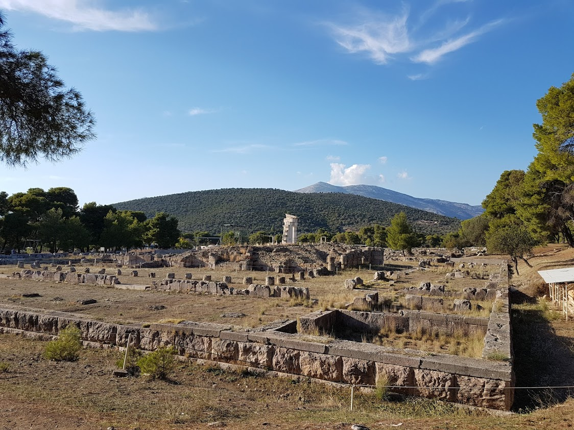 Epidaurus ruins in Greece