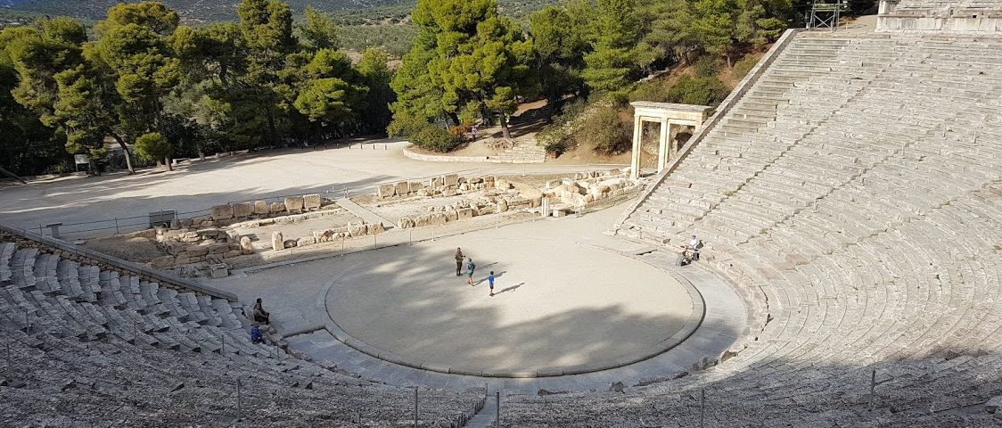 Epidaurus in Greece