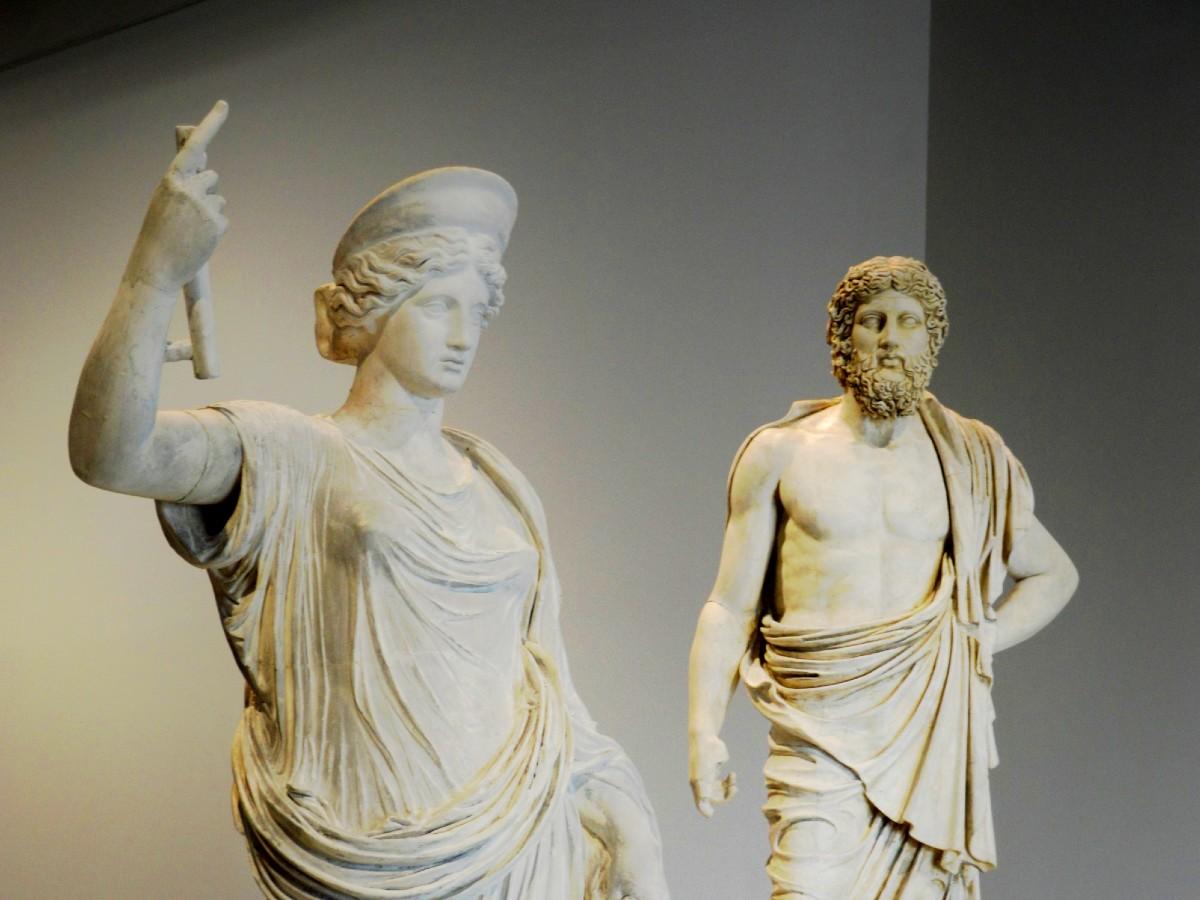 Best Greek mythology movies - Zeus and Hera