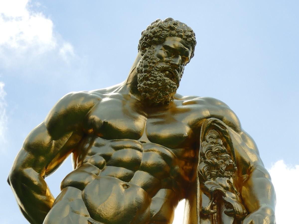 Hercules was a demi-god