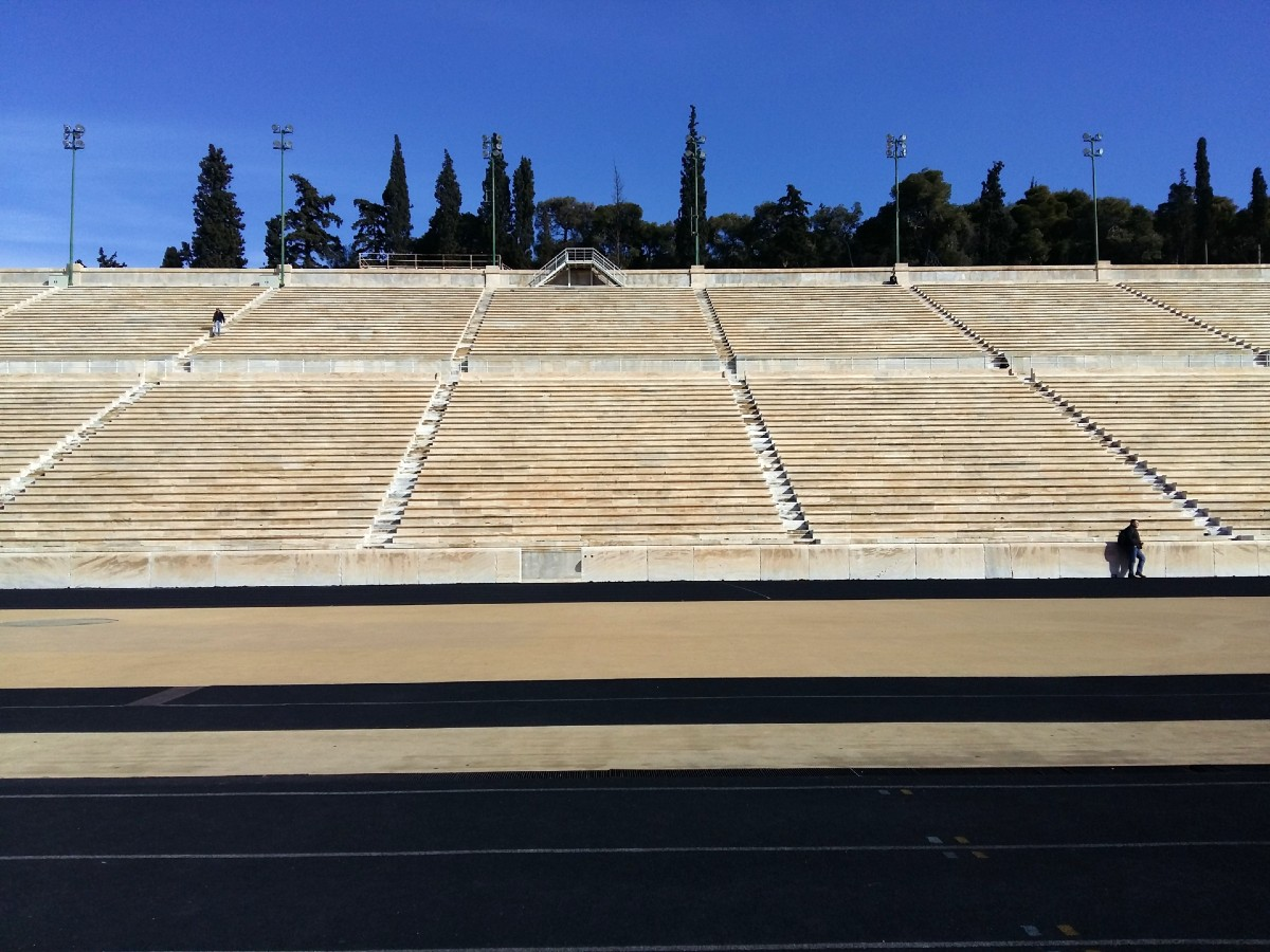 A view of the Panathenaic Stadium in Athens