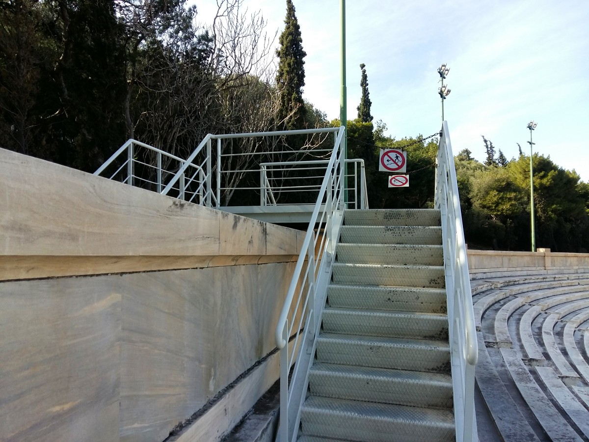 Free entrance to Panathenaic Stadium