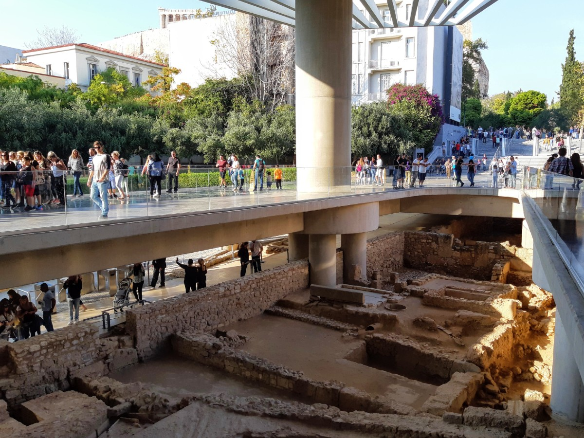 See ancient Athens at the Acropolis museum