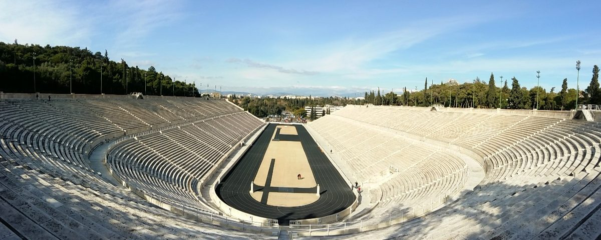 A view of the Panathenaic Stadium