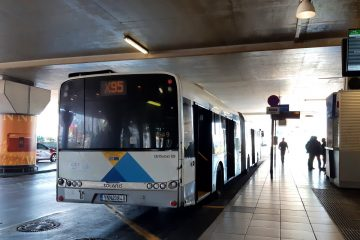 X95 bus Athens airport