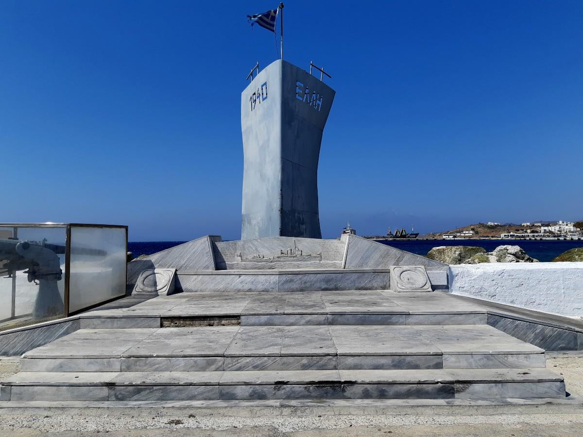 Elli monument in Chora Tinos
