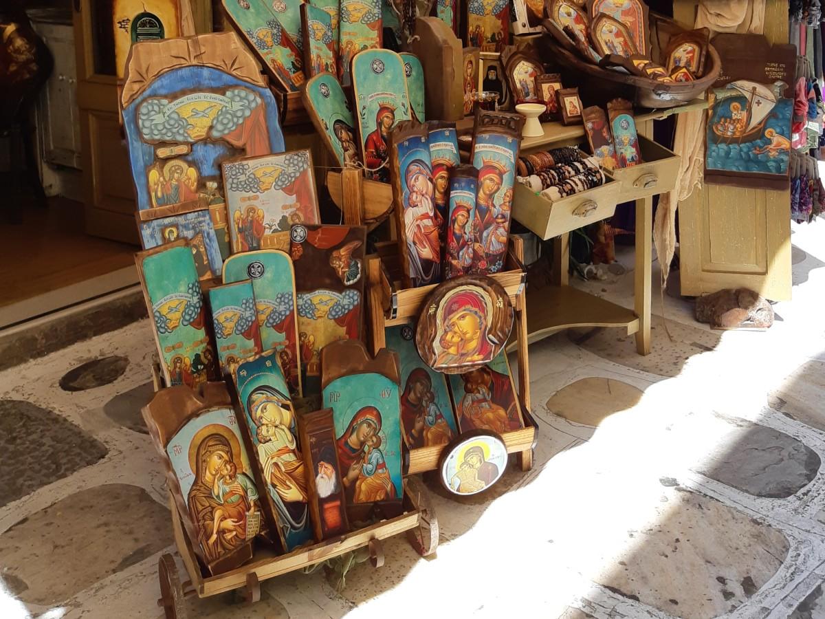 Lady of Tinos church - Byzantine icons