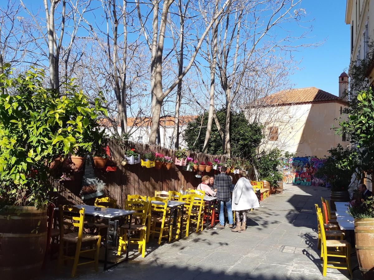 Kafeneio taverna in Plaka Athens