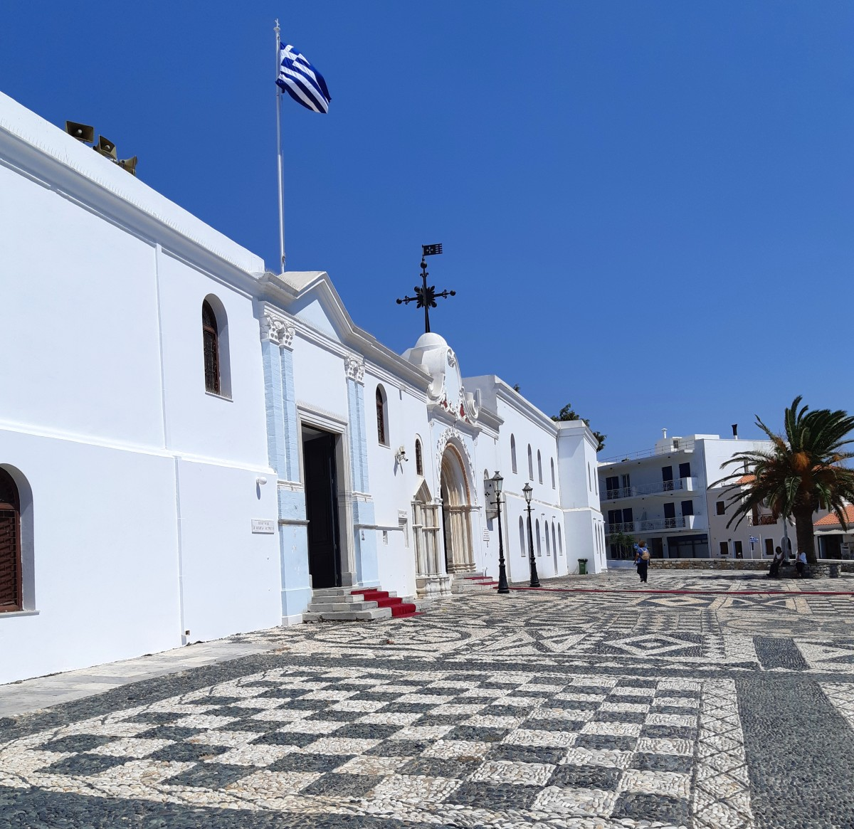Church of miracles in Tinos island