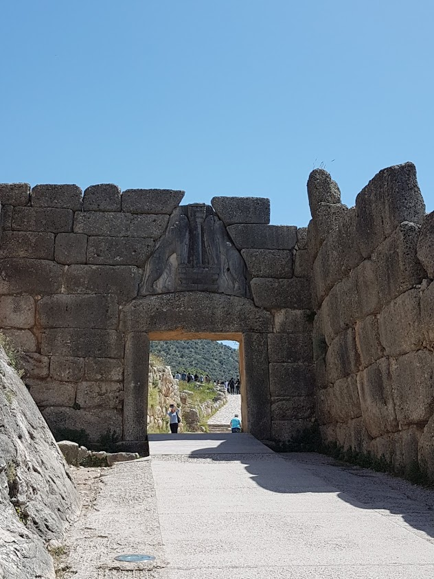 Mycenae in Greece
