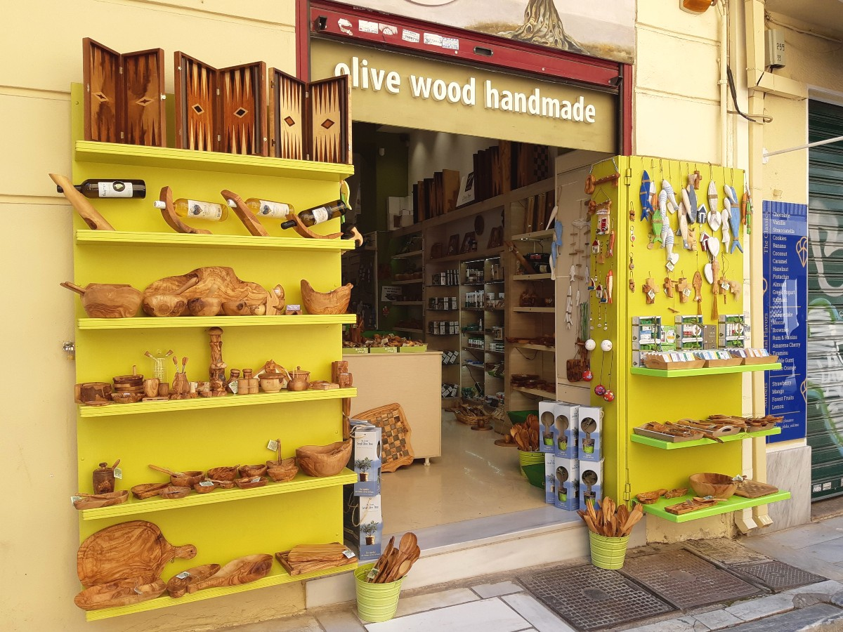 A store in Plaka Athens