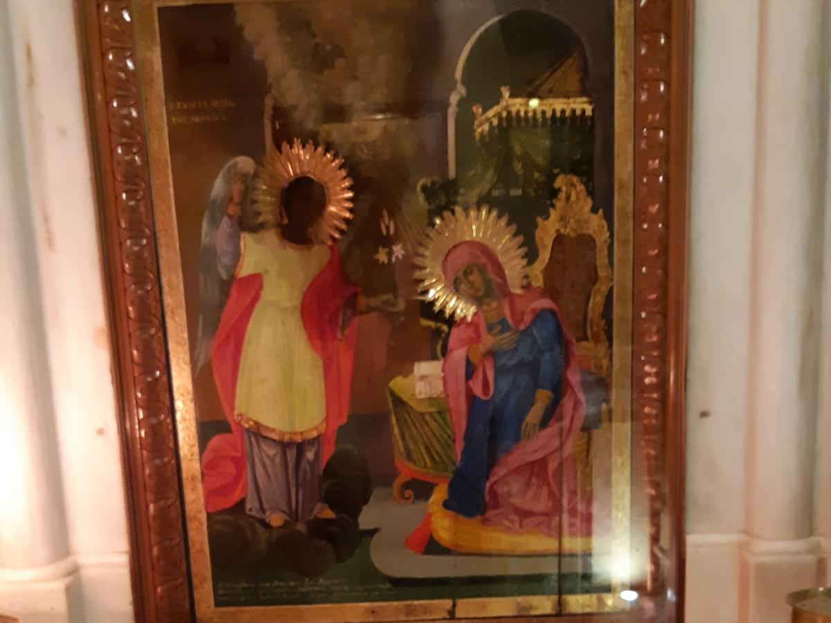 Church of miracles Tinos Greece